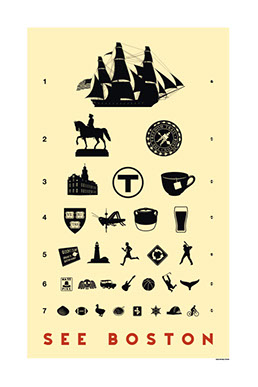 Boston Eye Chart
