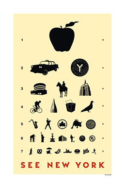 New York Eye Chart